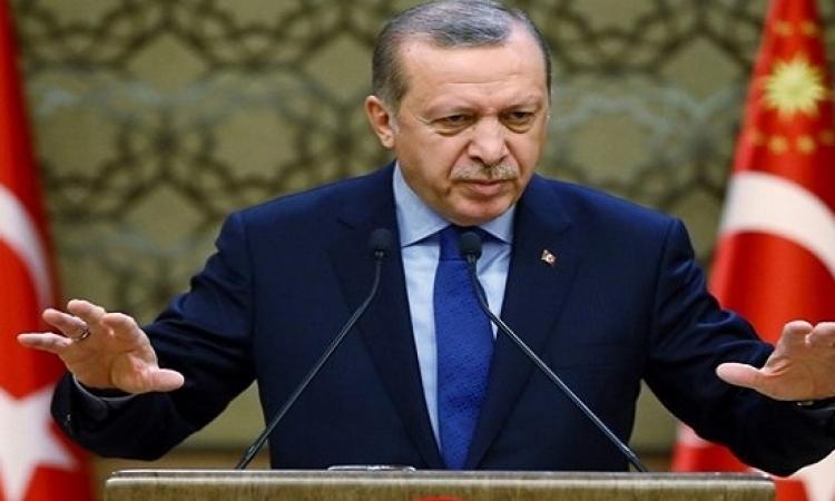 اردوغان يعترف بإسقاط مروحية تركية فى عفرين السورية ويتوعد بالرد