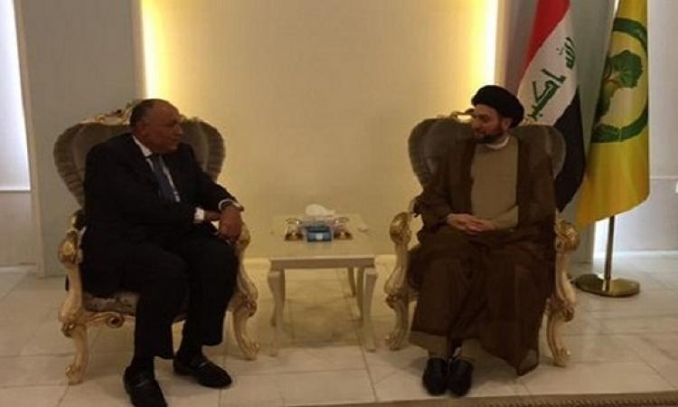 وزير الخارجية يلتقى اليوم رئيس التحالف الوطنى بالبرلمان العراقى