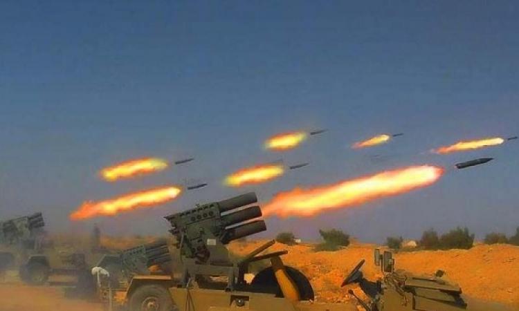 القوات السورية تقصف المعارضة شرق دمشق بالصواريخ