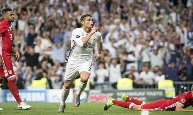 رونالدو يقود ريال مدريد لقهر بايرن ميونخ 4 / 2 فى الشامبيونز ليج