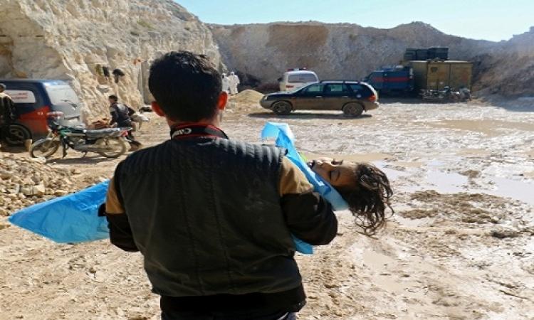 ارتفاع ضحايا هجوم خان شيخون الكيماوى إلى 86 قتيلاً