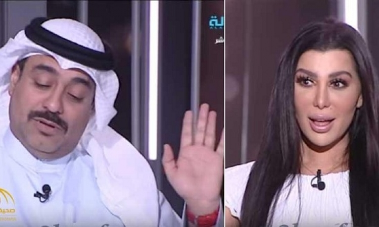 على خطى وفاء الكيلانى .. مذيعة كويتية تطلب يد فنان فيحرجها بشدة