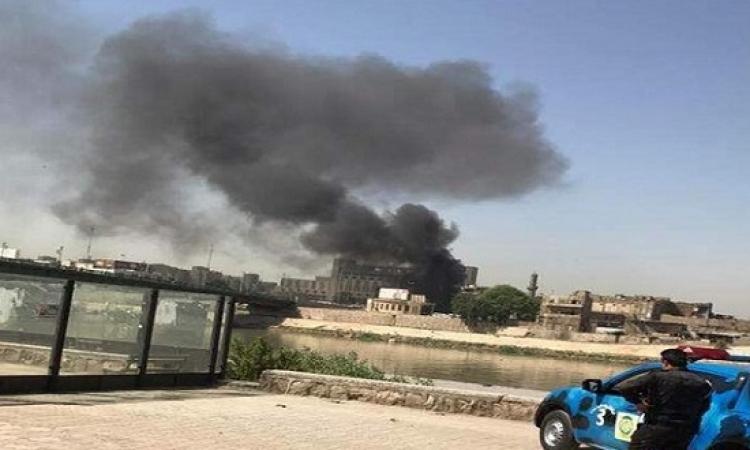 انفجار جديد بقلب بغداد بعد ساعات من تفجير الكرادة الضخم