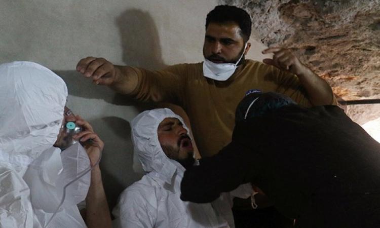 تمثيلية الجزيرة حول استخدام الجيش السورى للسلاح الكيميائى ضد المدنيين
