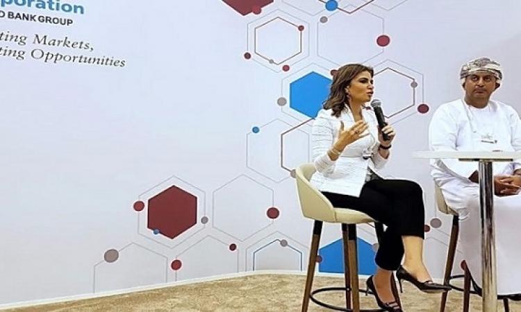 وزيرة الاستثمار تعرض تجربة مصر فى ريادة الأعمال بمنتدى دافوس بالبحر الميت