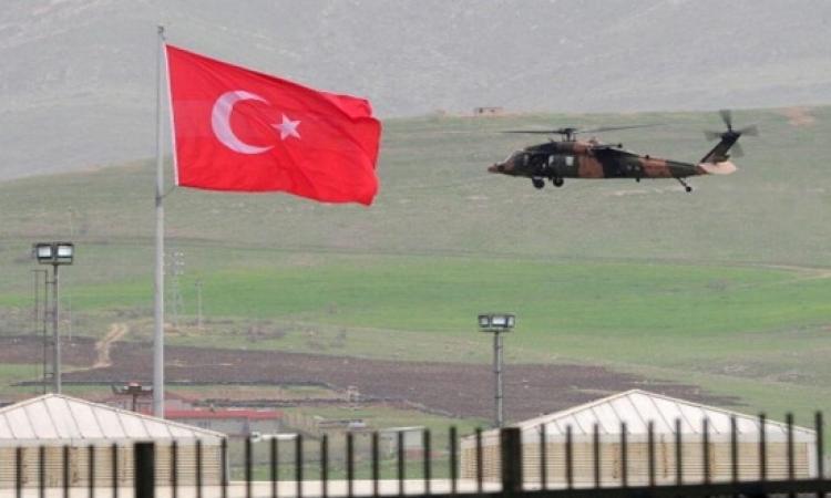 مصرع 13 عسكريا تركيا فى حادث تحطم مروحيتهم