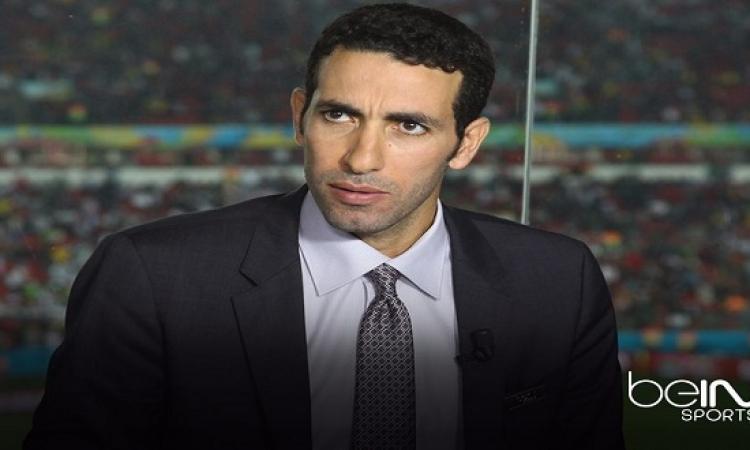 ظهور أبو تريكة فى ستوديو bein sports خاص بمباراة السعودية واستراليا