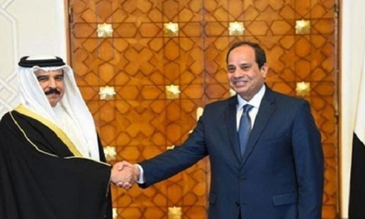 قمة مصرية بحرينية فى القاهرة لبحث تطورات العلاقات العربية – العربية