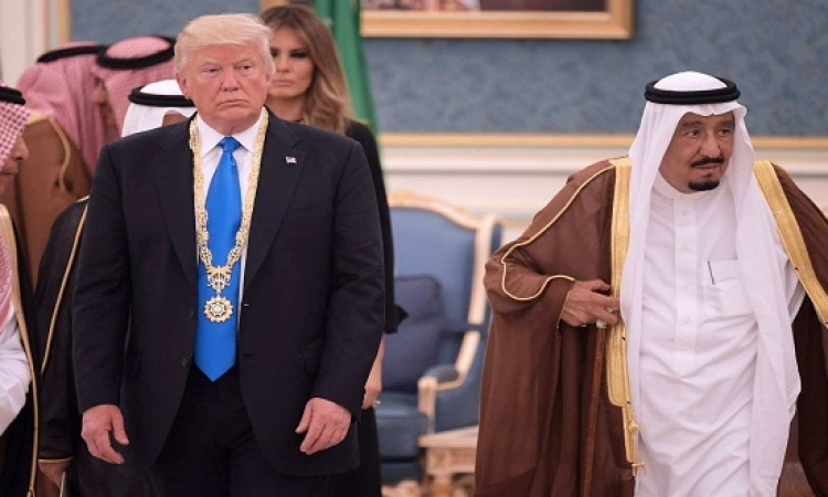 ترامب وسلمان يتفقان على ضرورة القضاء على الإرهاب من جانب أى دولة بالمنطقة