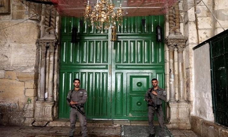 قوات الاحتلال تواصل اغلاق الاقصى حتى الأحد وتنفذ حملة مداهمات واعتقالات