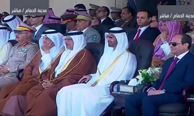الرئيس السيسى يفتتح قاعدة محمد نجيب ويشهد تخريج دفعات عسكرية جديدة