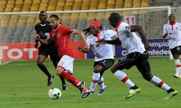 الأهلى يواجه القطن الكاميرونى للتأهل لربع نهائى دورى الأبطال