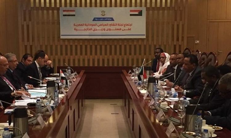 شكرى فى الخرطوم اليوم لرئاسة اللجنة الوزارية المصرية – السودانية المشتركة