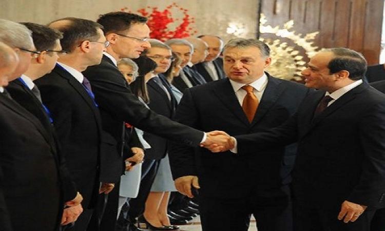 """الرئاسة: قادة """"فيشجراد"""" يدعموا جهود مصر فى الإصلاح ومكافحة الإرهاب"""