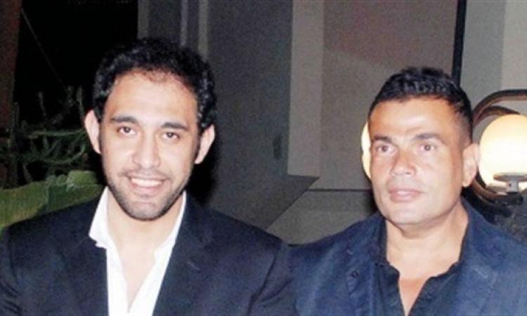 أول صورة لعمرو دياب وعمرو مصطفى انتهاء الخلاف بينهما