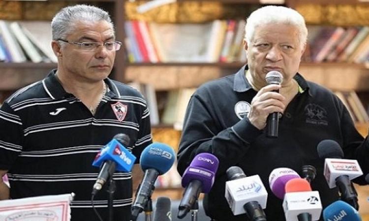 مرتضى منصور : لن افسخ التعاقد مع ايناسيو