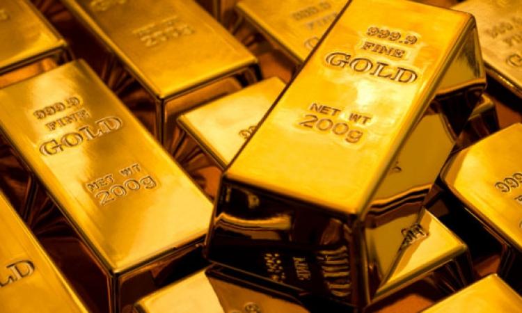 هبوط سعر الذهب الى أقل مستوى منذ 4 أشهر