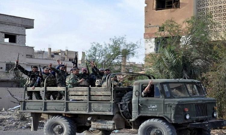 الجيش السورى يطرد داعش من آخر معاقله بمحافظة حمص