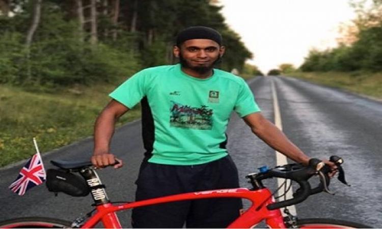 بعد شهرين.. مسلمو بريطانيا يصلون السعودية على دراجاتهم للحج