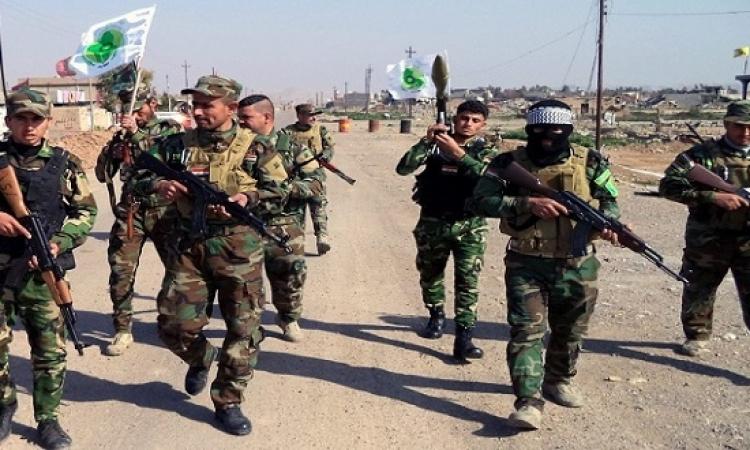 عشرات القتلى والجرحى من مسلحى الحشد الشعبى جراء غارة امريكية على الحدود العراقية السورية