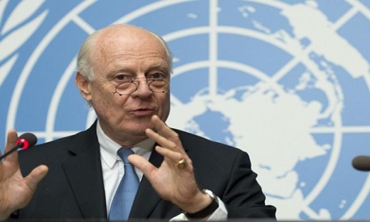 دى مستورا : على المعارضة السورية التحلى بالواقعية وإدراك أنها لم تكسب الحرب