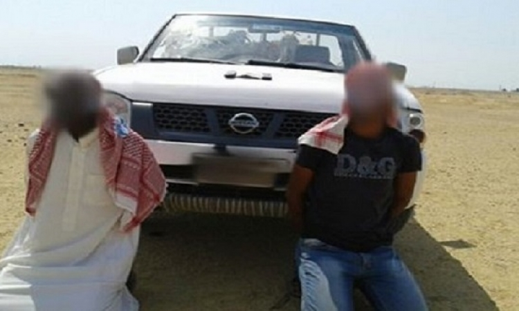 بالصور .. ضبط تكفيرى شديد الخطورة ومشتبهين فى دعمهما للتكفيريين بوسط سيناء