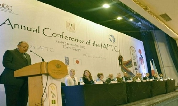 شكرى يفتتح المؤتمر السنوى للرابطة الدولية لمراكز التدريب على حفظ السلام