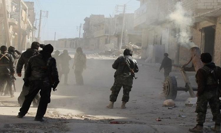 اشتباكات عنيفة بين القوات السورية وداعش فى دير الزور