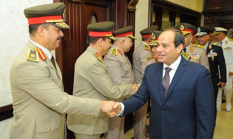 الرئيس السيسى يرأس اليوم اجتماعاً للمجلس الأعلى للقوات المسلحة