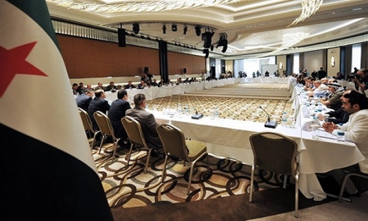 المعارضة السورية تجتمع بالرياض لانتخاب الوفد المفاوض فى محادثات جنيف