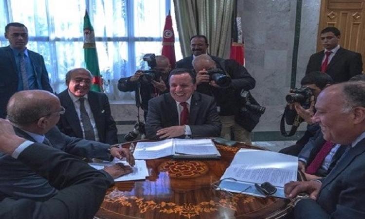 وزراء خارجية دول جوار ليبيا يبحثون الأزمة الليبية اليوم بالقاهرة