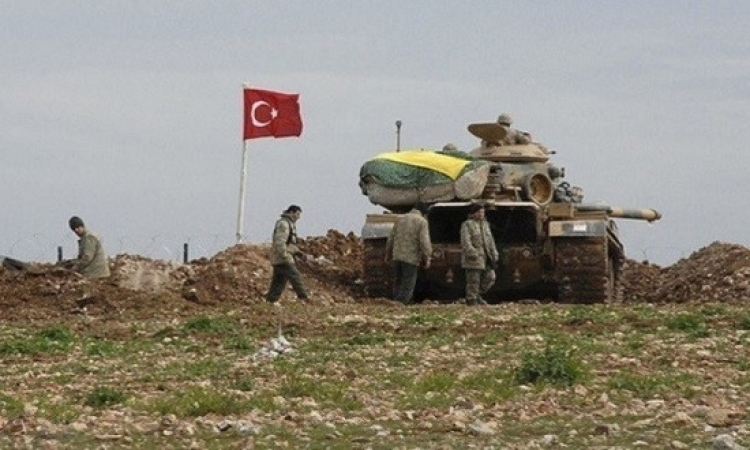 استكمال بناء أول قاعدة عسكرية تركية بريف حلب