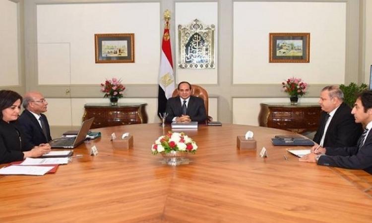 وزير الزراعة للسيسى: فتح أسواق جديدة لصادراتنا فى 4 دول أسيوية