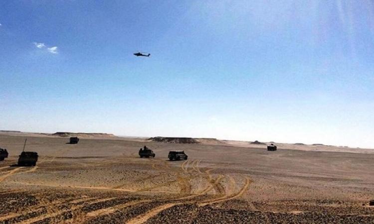 بالصور .. القوات المسلحة تعلن مقتل باقى العناصر الارهابية المتورطة فى كمين الواحات