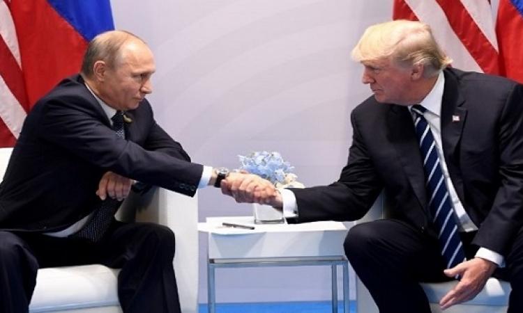 فى بيان للكرملين .. ترامب وبوتن يتفقان على انه لا حل عسكرى للأزمة السورية