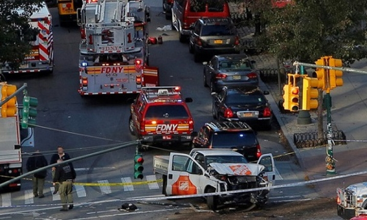 الخارجية : لا مصابين مصريين فى حادث دهس مانهاتن