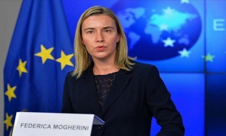الاتحاد الأوروبى يؤكد وقوفه بجانب مصر فى حربها ضد الإرهاب