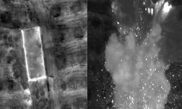 بالصور .. القوات الجوية تدمر عدداً من العربات المنفذة لهجوم مسجد الروضة