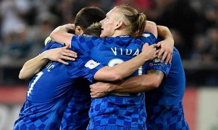 كرواتيا تنجح فى التأهل لمونديال روسيا بعد التعادل مع اليونان