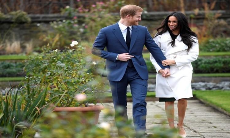 الأسرة المالكة ببريطانيا تبارك خطبة الأمير هارى وميغان ماركل