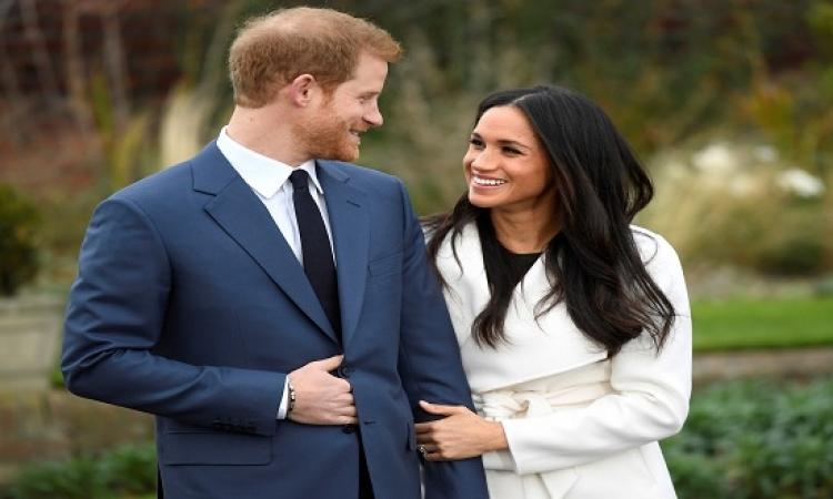 """بالصور..أول """"فوتو سيشن"""" بين الأمير هارى والممثلة الأمريكية بعد خطبتهما رسميا"""