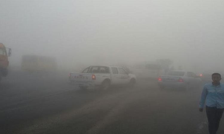 المرور يعيد فتح جميع الطرق التى اغلقت صباحاً بعد انقشاع الشبورة
