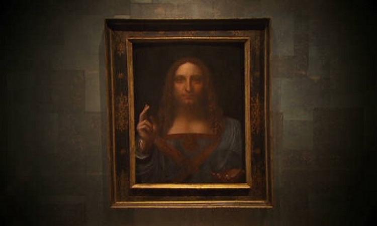 لوفر أبو ظبى ينتظر وصول لوحة المسيح لدافنشى