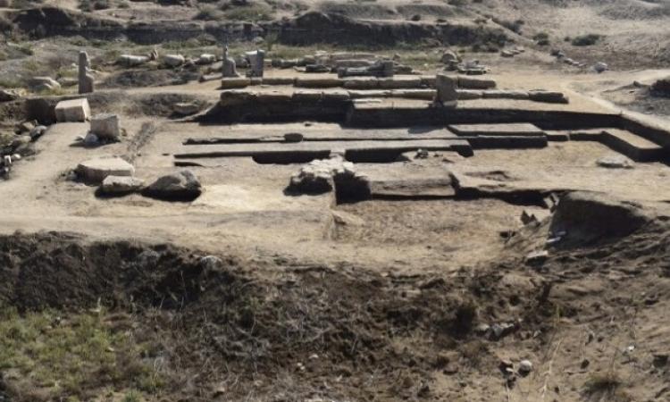 بالصور .. اكتشافات آثرية جديدة بتل الفراعين بكفر الشيخ