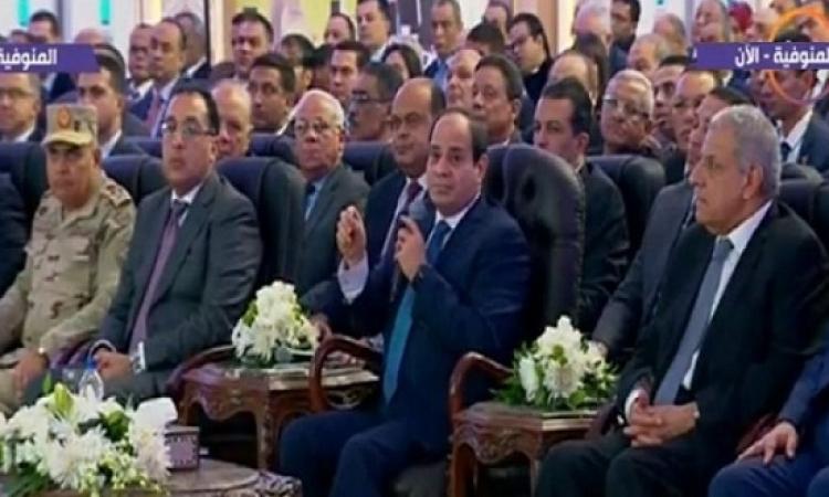 السيسى للسودان واثيوبيا : مصر لن تحارب أشقاءها أبدا ولا تتآمر على أحد