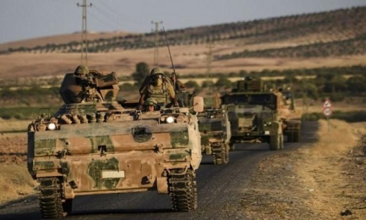 الجيش التركى يطوق مدينة عفرين شمال سوريا