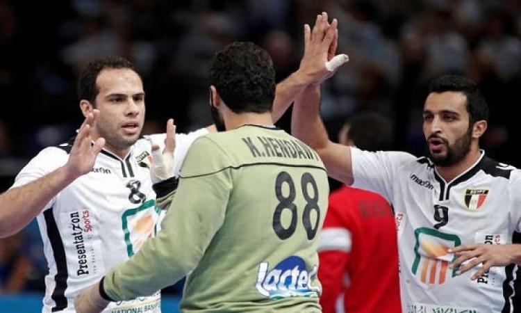 منتخب اليد يسعى للفوز بلقب أفريقى سابع أمام تونس