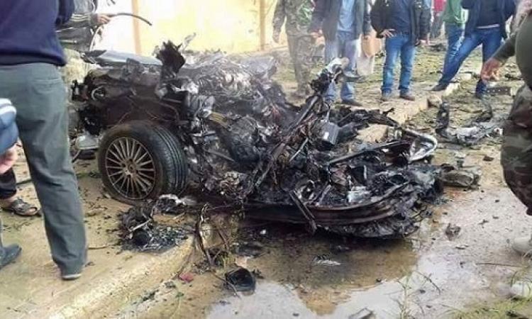 """انفجار سيارة مفخخة فى بلدة """"سلوق"""" غرب بنغازى"""