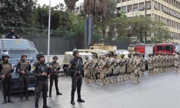 تكثيف التواجد الأمنى للقوات المسلحة والشرطة بمناسبة احتفالات عيد الميلاد