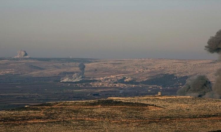 تركيا تواصل قصف أكراد عفرين السورية